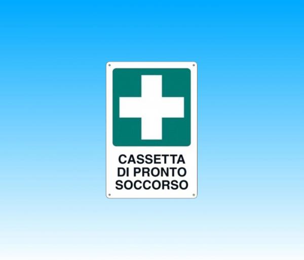 """CARTELLO """"CASSETTA PRONTO SOCCORSO"""""""