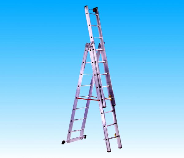 Scala dotata di stabilizzatore di base